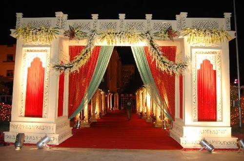 Wedding Gate & Wedding Gate Holiday u0026 Party Decorations | Shree Lakshmi Tent ...