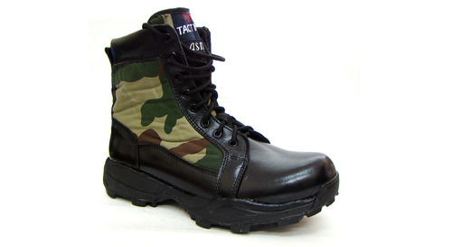 DMS Camouflage High Ankle Army Shoes