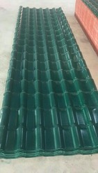 Turatuf  UPVC Spanish Model Green Colour  Sheets Tile Sheet