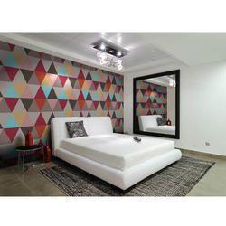 Customize Decorative Bedroom Wallpaper