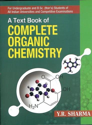 Organic Chemistry Book क म स ट र क त ब क म स ट र ब क रस यन व ज ञ न क प स तक Kalyani Publishers Ludhiana Id 10718050133