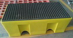 2 Drum Spill Containment Pallet