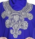 Royal Blue Farasha Dubai Kaftan