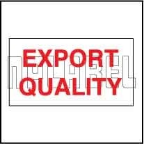 152640 Export Quality Sticker