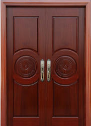 Wood door in hyderabad wooden door dealers suppliers in for Double door wooden door