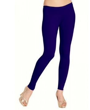3b65e90f2982 Aashina Dark Blue Color Women Slim-Fit Leggings, महिलाओं की ...