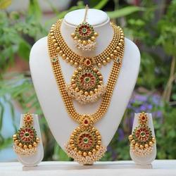 9f230a79f75c0 Bridal Necklace Set in Coimbatore, Tamil Nadu | Get Latest Price ...
