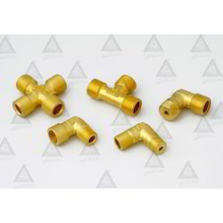 Brass Elbow , Tee & 4 way Fittings