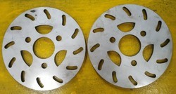 Grey Stainless Steel Solar Vehicle Disc Brake, Packaging Type: Box
