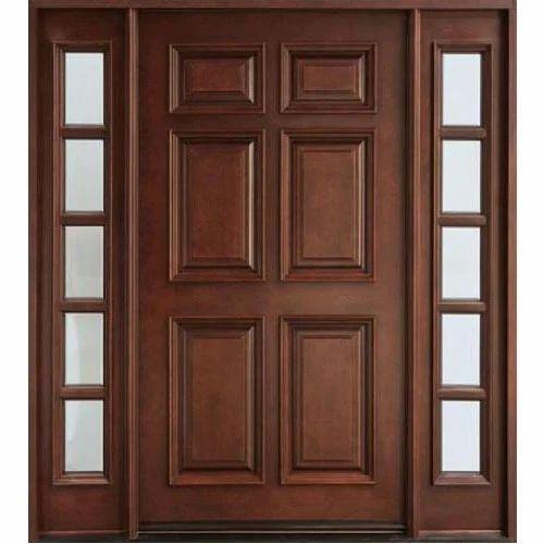 Teak Wood Door Doors And Windows Balaji Traders In