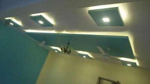 Gypsum False Ceiling, False Ceiling | Baltana, Zirakpur ...