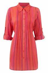 Women Cotton Long Shirt