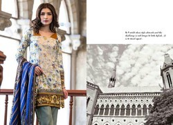 Sahil Party Wear Printed Lawn Dress Matrial