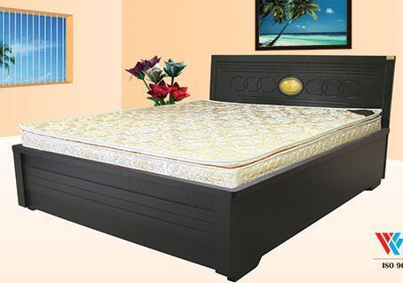 Double bed designs box images for Double bed with box design