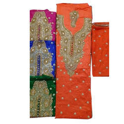 Hand Embroidered Designer Unstitched Suit