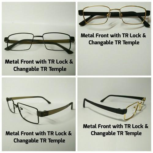 Metal Front TR Temple Frame