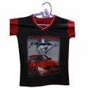 V neck Boys T-Shirt Printing Service
