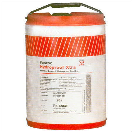 Forsoc Construction Chemicals Fosroc Hydroproof Xtra Manufacturer From Chennai