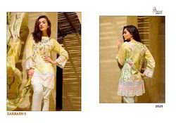 Zarkash Cotton Salwar Kameez