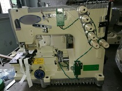 Manual And Zipper Stitching Machine, Usage: Heavy Material