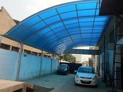 Outdoor Polycarbonate Shed