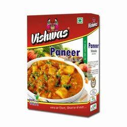 Vishwas 200 g Paneer Masala, Packaging: Box Packet