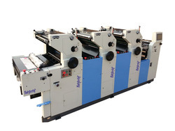 Three Color Printing Machine