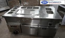 Geleto Counter Freezer