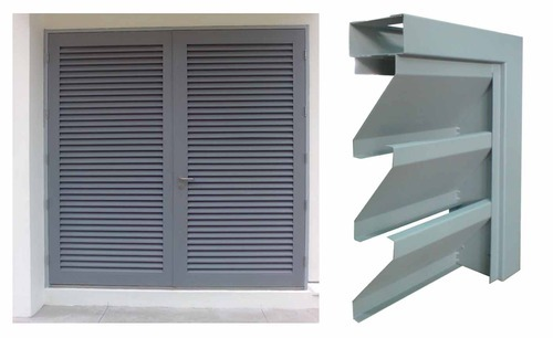 Exterior: Steel Windows, Louvers, Ventilators