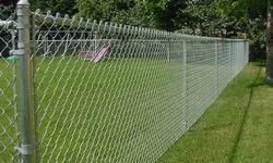 MAURYA BRAND ISI Galvanised Steel Chain Link Fence