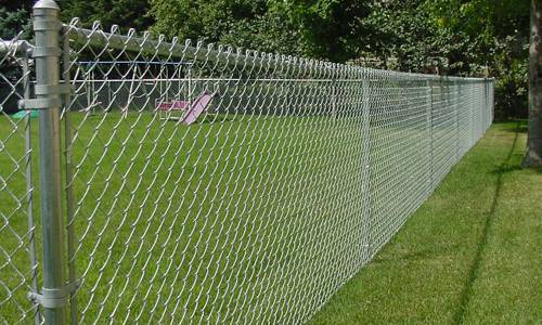 Isi Galvanised Steel Chain Link Fence At Rs 51 Kilogram S