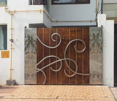Designer Stainless Steel Main Gate. Designer Stainless Steel Main Gate  SS Gate   Dream Home  Kanpur