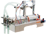 Table Type Double Head Liquid Filling Machine