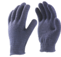40gm Blue Cotton Knitted Hand Gloves