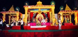 Pandal Golden Decoration Work