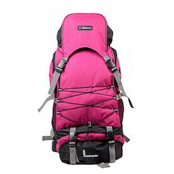 Pink & Grey Backpack Rucksack Bag