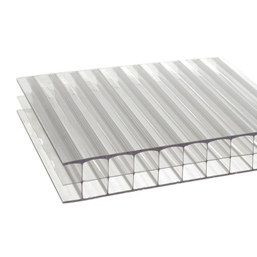 Polycarbonate Double Wall Pc Roofing Sheet Rs 50 Square