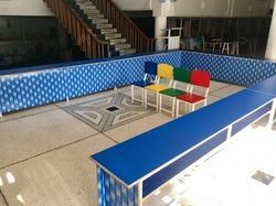U Counter With 30 Chairs Set For 3rd 4th Standard