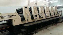 Akiyama Bestech 640 Six Colour Offset Printing Machine