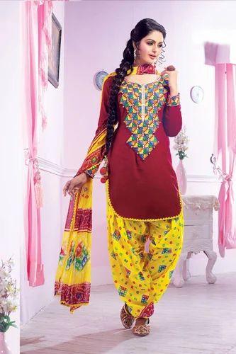 fe18d1695c Punjabi Patiala Suit at Rs 500 /piece(s) | Punjabi Suits | ID ...