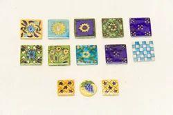 Blue Pottery Decorative Ceramic Tiles