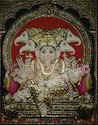 Panjamuga Vinayagar Tanjore Paintings