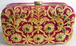 Female Wedding Box Clutch Bag