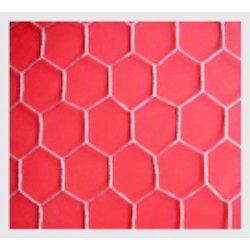 SS304 Welded Wire Mesh Hexagonal Meshes, For Industrial