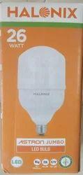 Cool daylight Halonix LED Bulb, Base Type: E14, E27