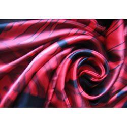 Printed Silk Satin Fabric