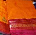 Plain Banarasi Saree