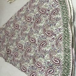 French Paisley Print Round Tablecloth