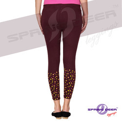 Ladies Bottam Printed Leggings