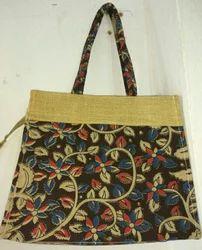 Printed Biodegradable Jute Bag, Size: 25x20 inch